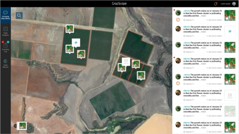 Image 2: Farm management and information-intensive portal for farmers (Graphic: Business Wire)