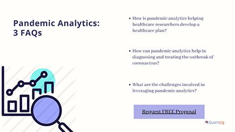 Pandemic Analytics: 3 FAQs