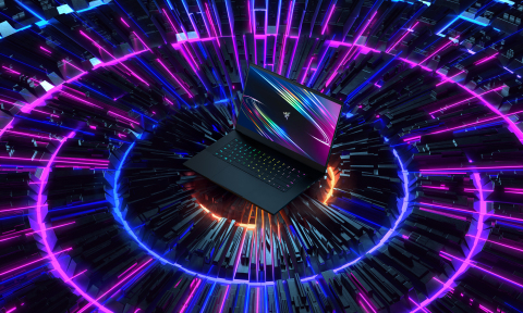 The all-new Razer Blade 15 features a 300 Hz display, NVIDIA GeForce RTX SUPER GPUs, and a 10th Gen 8-core Intel processor (Photo: Business Wire)