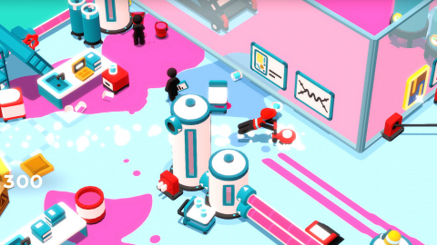 Solve challenging puzzles, alone or in two-player mode, in Good Job!, the hilarious new game from Nintendo. (Photo: Business Wire)