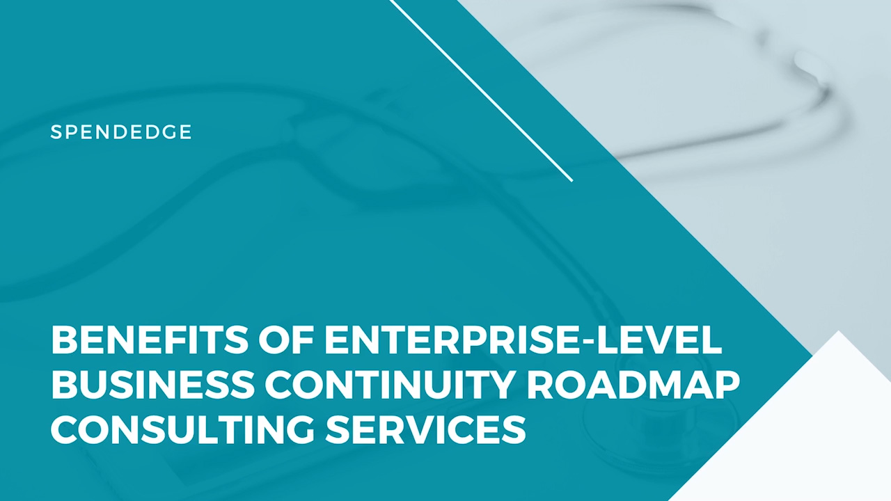 Benefits of Enterprise-level Business Continuity Roadmap Consulting Services.