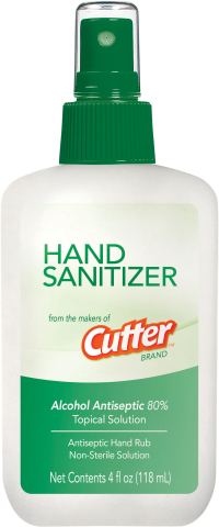 Hand Sanitizer from the makers of Cutter® Brand. (Photo: Business Wire)