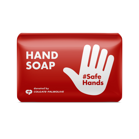 Colgate is supporting the World Health Organization's (WHO) #SafeHands effort to stop the spread of COVID-19 by producing a new soap that will include instructions on proper handwashing. (Photo: Business Wire)
