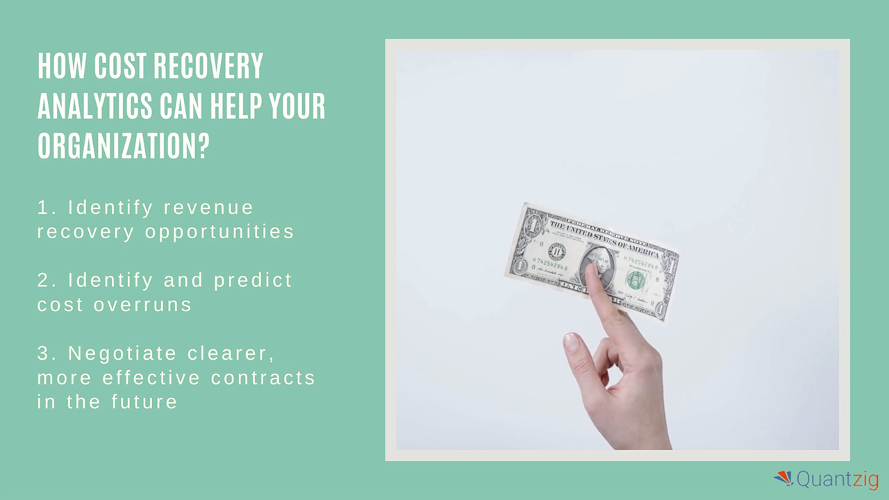 How Cost Recovery Analytics Can Help Your Organization