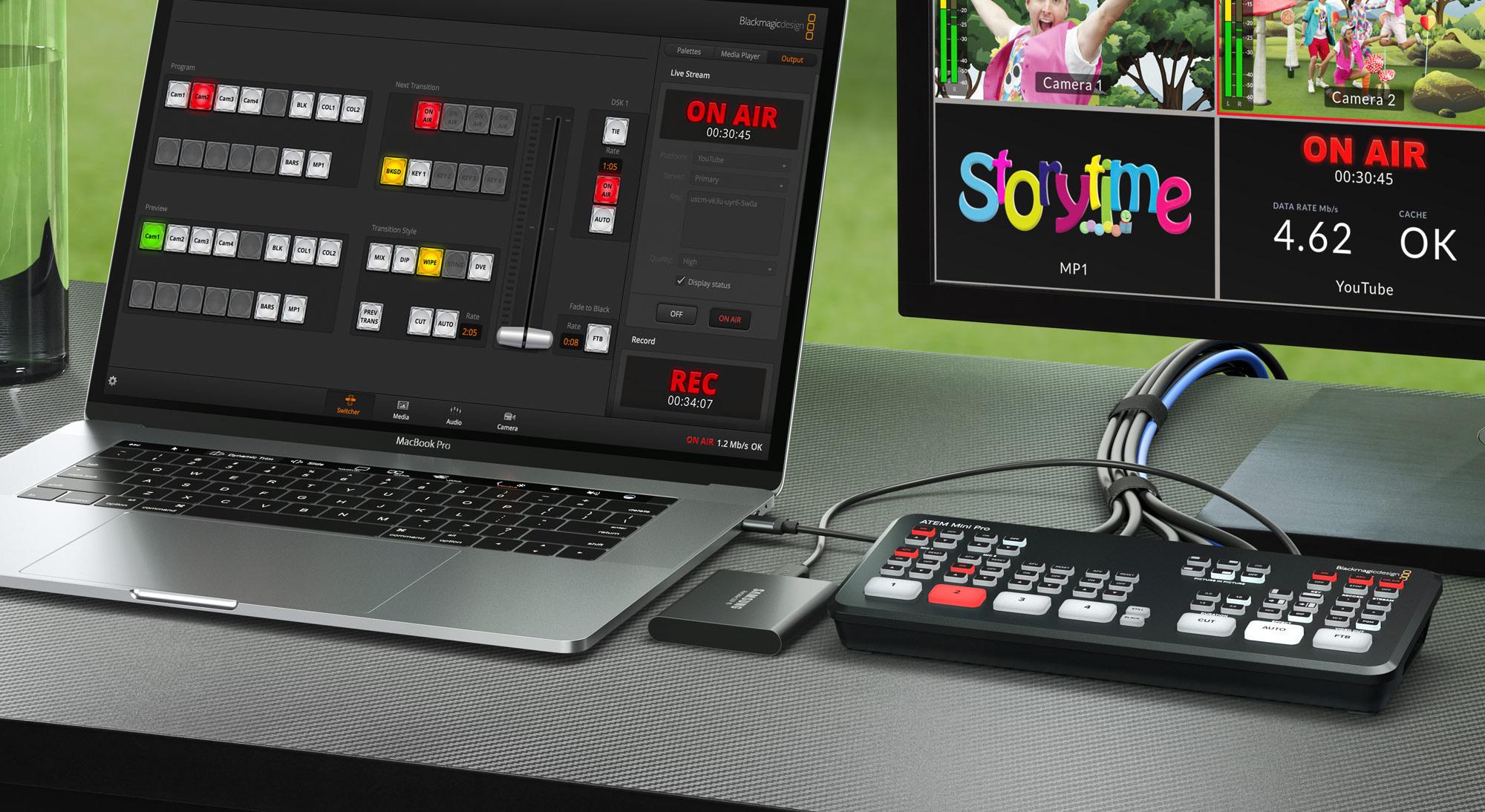 Blackmagic Design Announces New Atem Mini Pro Business Wire