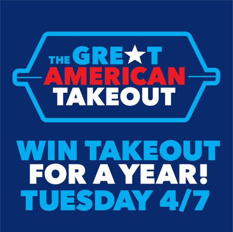 The Great American Takeout, now in its third weekly installment, aims to aid the struggling restaurant community by encouraging Americans to support the restaurants they love by ordering pick-up or delivery meals. (Graphic: Business Wire)