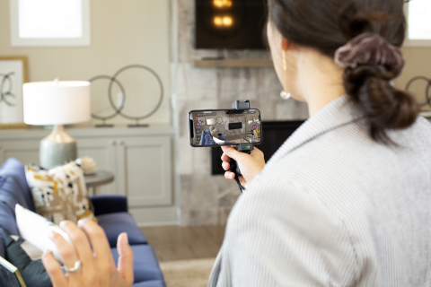 HomeRover lets the real estate agent perform the live video home tour while remote buyers watch and interact. (Photo: Business Wire)