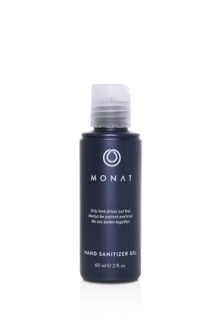 MONAT is giving away 240,000 2-ounce bottles of hand sanitizer to government entities, non-profit organizations and customers across North America (Photo: Business Wire)