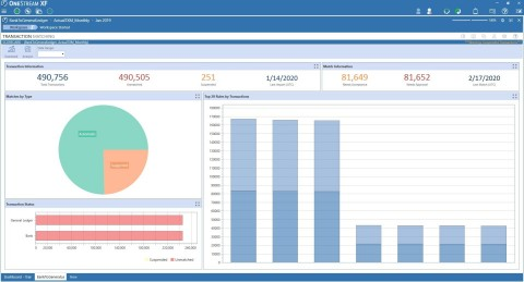 OneStream Transaction Matching (Graphic: Business Wire)
