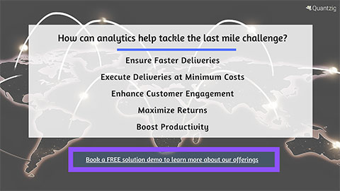 How can analytics help tackle the last mile challenge?