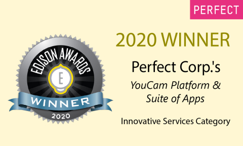 Perfect Corp.'s YouCam platform and suite of apps receives a silver award in the 33rd annual Edison Awards (Photo: Business Wire)