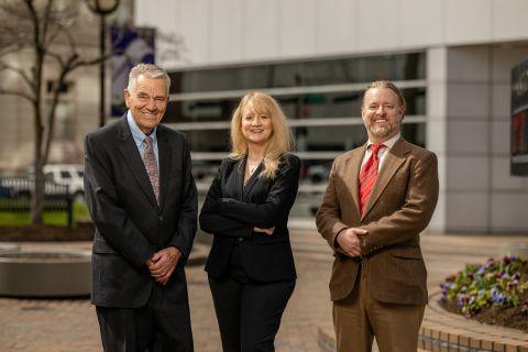 Robert Arthur Bonwell Sr., Kellie Keeling, Robert Arthur Bonwell Jr., Ameriprise financial advisors. Photo courtesy of Ameriprise Financial.