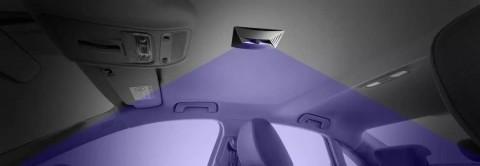 図1. violeds技術を応用したヤンフェン社(2019年連結売上200憶ドル)の車内用UVサニタイザー(画像:ビジネスワイヤ)