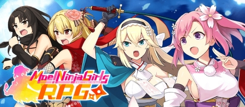 """Pre-registration has begun for the newest title from the """"Moe! Ninja Girls"""" series: """"Moe! Ninja Girls RPG"""" Pre-register now and get amazing items upon release! (Graphic: Business Wire)"""