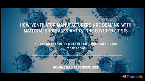 How Ventilator Manufacturers Are Dealing with Material Shortages Amidst COVID-19 Crisis