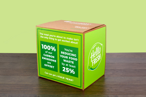HelloFresh Announces Plans to Offset 100 Percent of Its Carbon Emissions (Photo: Business Wire)