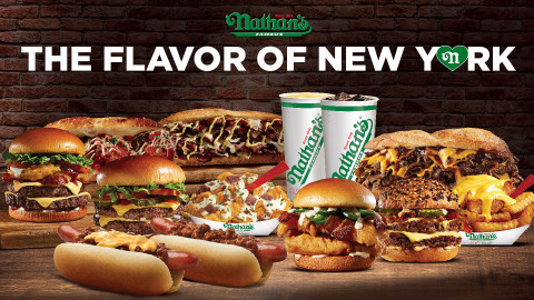 Nathan's Famous New Menu Items (Photo: Business Wire)