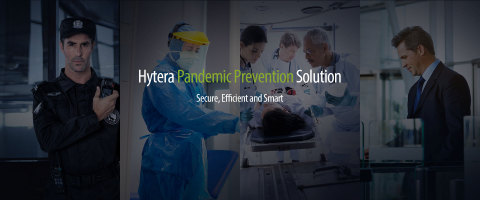Hytera Anti-Pandemic Solutions Help to Contain the Virus Crisis (Photo: Business Wire)
