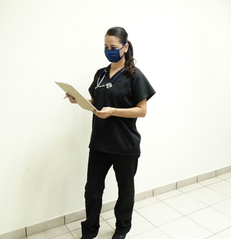 In response to the COVID-19 outbreak, Aramark has converted its uniforms production lines to make scrubs, as well as masks and isolation gowns, for healthcare providers and other frontline workers who rely on this gear to perform their jobs. (Photo: Business Wire)