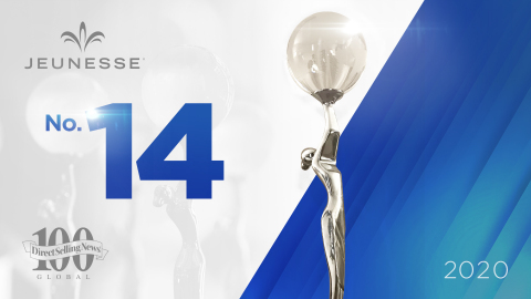 Jeunesse ranks among the Direct Selling News Global 100 top 15 companies for the third time. (Photo: Business Wire)