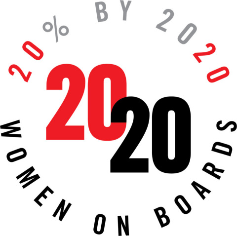 Cubic Named a 2020 Women on Boards Winning Company (Graphic: Business Wire)
