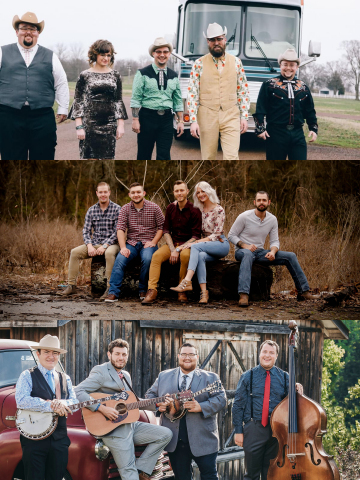 Jars & Jams Bands: The Po' Ramblin' Boys, April 17 Monroeville, April 24 Seth Mulder & Midnight Run, May 1 (Photo: Business Wire)
