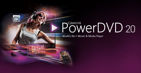 PowerDVD 20 Embraces Cloud Technology for an Unrivaled Media Viewing and Sharing Experience across Devices. Anytime, Anywhere. (Photo: Business Wire)