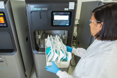 Advanced Sterilization Products Granted FDA EUA Allowing Decontamination of Millions of Compatible N95 Respirators to Help Protect Against COVID-19 (Photo: Business Wire)