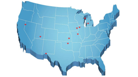 LICT service areas (Graphic: Business Wire)