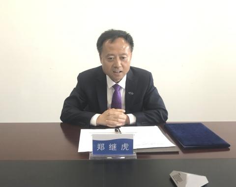 中汽数据总经理郑继虎