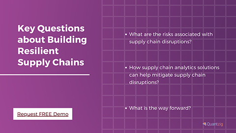 Key Questions about Building Resilient Supply Chains