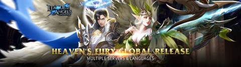 League of Angels – Heaven's Fury Is Out Now On GTarcade (Graphic: Business Wire)