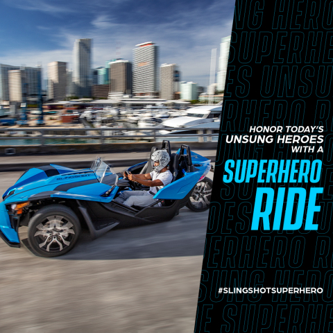 Polaris Slingshot Superhero Ride (Photo: Business Wire)