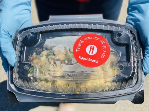 One of thousands of chef-prepared meals on its way to frontline workers. (Photo: Business Wire)