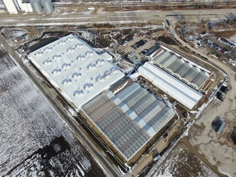 Cresco Labs' Lincoln, Illinois facility is the state's largest cannabis cultivation site (Photo: Business Wire)
