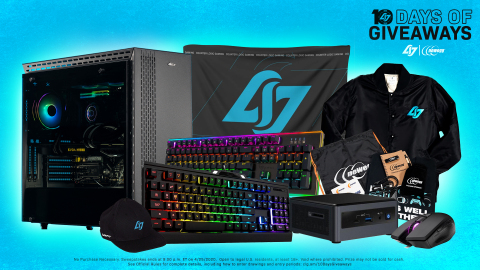 Newegg's CLG 10th Anniversary 10 Days of Giveaways (Photo: Business Wire)