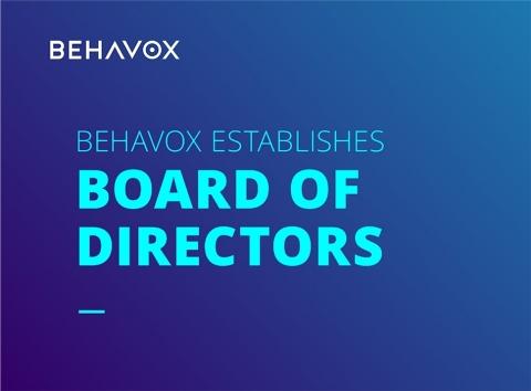 BEHAVOX業界のリーダーを含む取締役員を発表 (画像:ビジネスワイヤ)