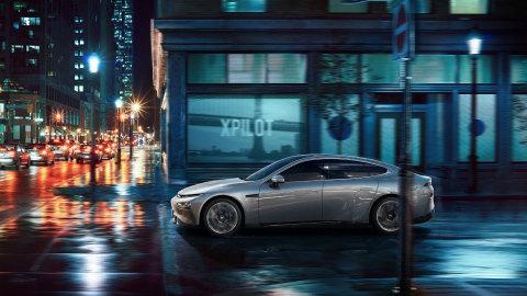 Xpeng P7 super long-range smart sedan (Photo: Business Wire)