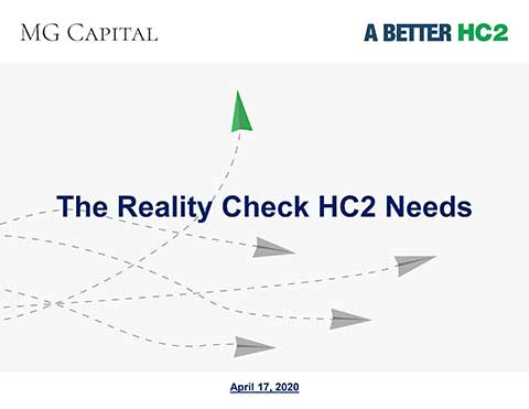 A Reality Check for HC2.