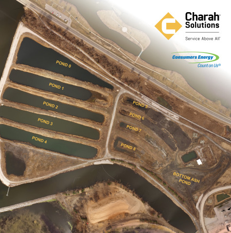 Charah Solutions to close former B.C. Cobb Generating Facility ash ponds and repurpose them as natural wetlands. (Photo: Business Wire)