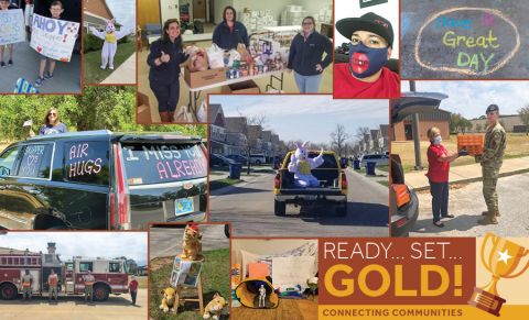 To support our residents during these unusual times, we've created virtual operational processes and launched several fun and free programs like Ready, Set, Gold! to give back to our communities. (Photo: Business Wire)