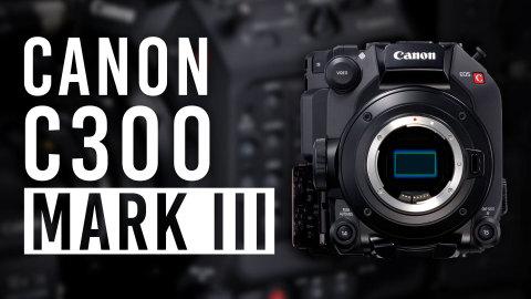 Canon EOS C300 Mark III Cinema Digital Camera (Photo: Business Wire)