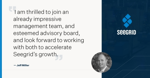 Seegrid Appoints Jeff Miller to Its Strategic Advisory Board (Graphic: Business Wire)