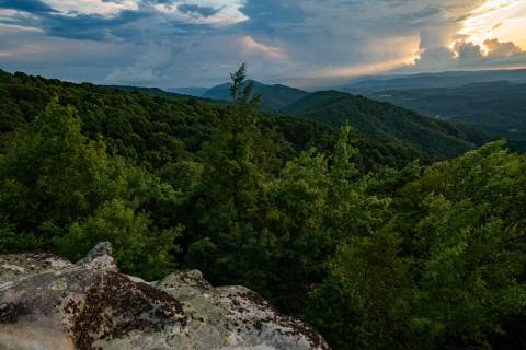 The Appalachian Mountains in the U.S.  (Photo: The Nature Conservancy)