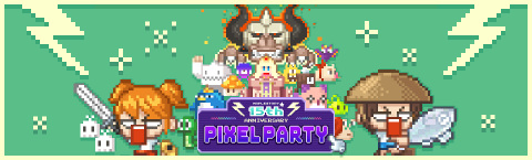 MapleStory 15th Anniversary Pixel Party Banner (Graphic: Business Wire)