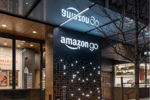 Amazon Go (Stock Photo)