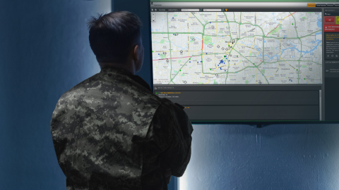 Everbridge Partners with U.S. Army to Mitigate Impact of COVID-19 Across Over 400 Military Locations in 70 Countries (Photo: Business Wire)