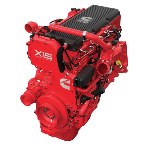 Cummins' X15 Efficiency Series 6-cylinder diesel engine enhanced with Tula's diesel Dynamic Skip Fire (dDSF) (Photo: Business Wire)