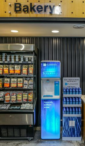 FloWater Refill Station in Choice Market Denver Store (Photo: Business Wire)