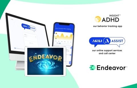 Endeavor Treatment System(TM) care program (Photo: Business Wire)